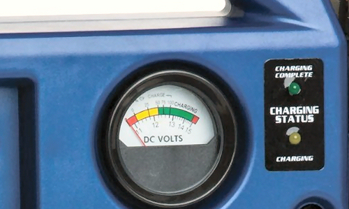 Clore jnc660 jumpstarter voltmeter
